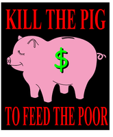 KILL THE PIG by scart