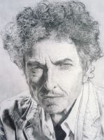 Bob Dylan Drawing by loaded88