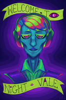 Welcome to Night Vale more saturated ver by RhodArt