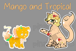 Tropical Mango BubblePups Auction CLOSED by pinalapple