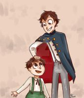 wirt and greg by AbbyApple