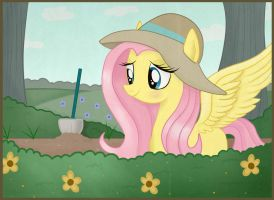 Flutters and Her Garden~ by Balloons504