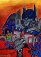 Bday Gift Optimus Prime by Bumblesz