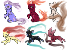 CHEAP Fog Cat Adopts by NyanNyanLoveAdopts