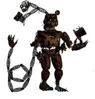 Ultimated Nightmare Freddy V2 by Trapspring