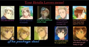 Your Hetalia Lovers Meme by Mizu1993