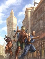 Cross City Race by UdonCrew