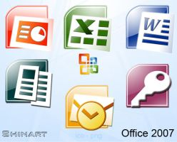 Office 2007 by Shinart