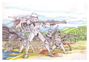 Republic Commando Triple Zero by FoxbatMit