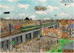 Yamamote Line coloured by mikopol