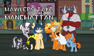 Mawlers Take Manehattan! Group Shot by BronyAmateur