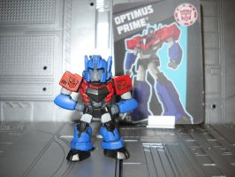 Transformers Robots in Disguise Optimus Prime by Prowlcop