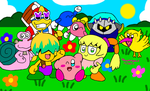 Kirby Anime Characters by MarioSimpson1