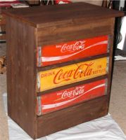 Coke Case Table by photowizard
