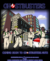 Ghostbusters.nuts Promo Poster by kingpin1055