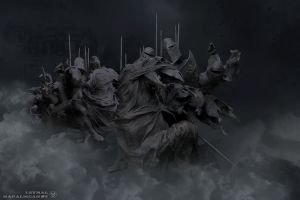 Black Riders of the Apocalypse by xx-Lethal-xx