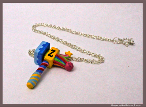 Baby Zillyhoo Charm Necklace by sparr0
