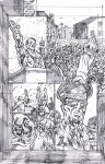 Son Chasers 2 Page 6 Pencils by KurtBelcher1