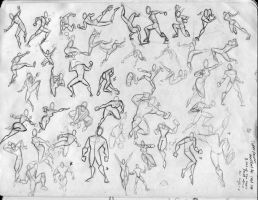 BFA Thesis- Poses 3 of 4 by KCretcher
