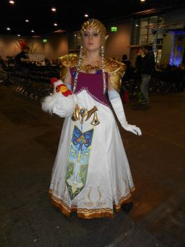 GCC Frankfurt 2017 cosplay: Princess Zelda by Lalottered