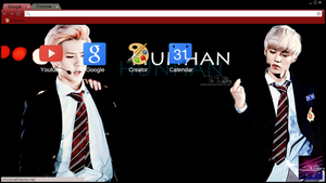 Hunhan Theme [Based off my original version HH WP] by The-Rmickey