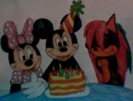 Happy Birthday Mickey by MollyKetty