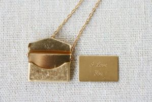 Love Letter Necklace by XoErica
