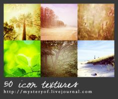 50 icon-sized textures by mysteryofobscurity