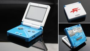 custom Starfox GBA SP by Zoki64