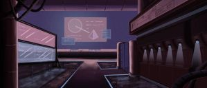 The Sentinel - Control Room finished by Lulolana