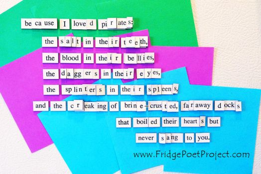 The Daily Magnet #362 by FridgePoetProject