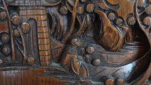 Wood Carving 3 by Ox3ArtStock