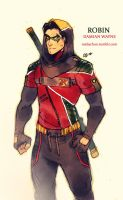 ROBIN (Damian Wayne) Outfit by MabyMin
