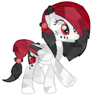 .:Crystal Pony:. Blood Moon by iPandacakes