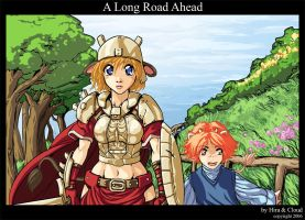 A Long Road Ahead by drcloud