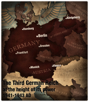 Civilization 5 Map: The Third Reich 1942 by JanBoruta