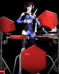 D'va with drums and CMI by MarineACU