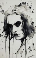 The crow by Nim427