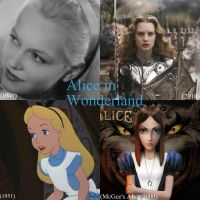Alice Trough the Years and Generations by GabyxAliceAlma