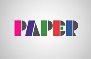 Paper Type by my-name-is-annie