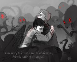 For the Sake of an Angel by Elentori