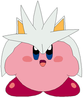 Kirby Hat: Silver the Hedgehog by MollyKetty