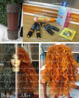 WIP: Merida wig by kasaikun16