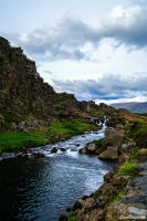 Iceland Tranquility by StarrDanielArt