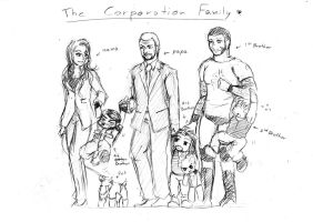 The Corporation Family by Tapla
