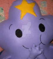 Huge Lumpy Space Princess Plushie Pillow by CatsFeltLings