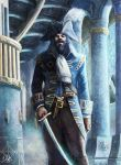 The Blue Captain by lathander1987
