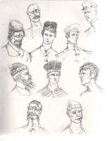 Cossack sketches by smallblackbook