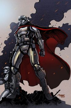 Captain Phasma by moritat