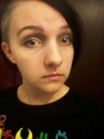 My crappy Midousuji makeup by Sorvat8100